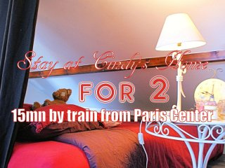 Bed for 2 in shared room - 15mn from Paris - Deuil-la-Barre vacation rentals