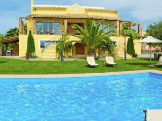 Villa Exclusive - Amazing beautiful, big luxe house, large swimming pool, gym, tennis court, Corfu - Danilia vacation rentals
