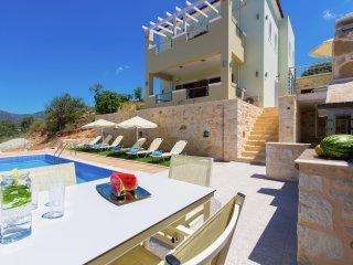 Petro Kampos Villa 1 - New beautiful big villa, private pool, near Panormo - Melidoni vacation rentals