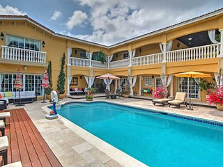 Amazing Value! Mediterranean-Style 6BR Hallandale Beach House w/Wifi, Heated Private Outdoor Pool, Gym, Large Decks & Endless Water Views - Near Beaches, Gambling, Shopping & More! - Hallandale vacation rentals