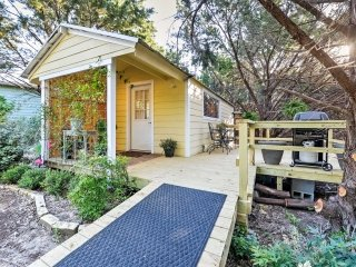 NEW! 'Forest Cottage' 1BR Waco Cottage w/ Deck! - Waco vacation rentals