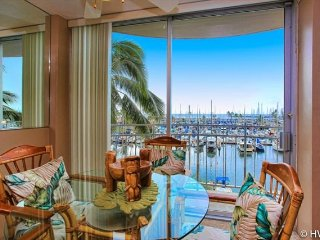 Ilikai Marina 484 Ocean / Sunset / Fireworks Views King Bed, Sofa Bed - Honolulu vacation rentals