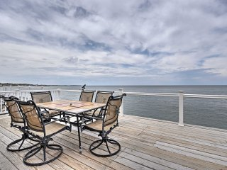 New! Oceanfront 3BR Scituate Home w/2-Level Deck! - Scituate vacation rentals