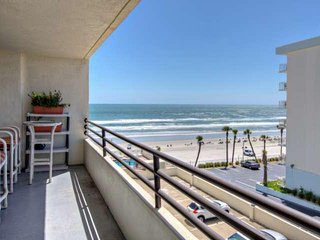 NEW! Ocean and River Views!! Now Have the BEST of Both Worlds in Colorful Unit - Daytona Beach Shores vacation rentals
