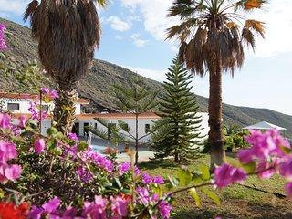 Stunning Villa with Palm Garden, Pool, Office Space & Ocean Views - Los Gigantes vacation rentals