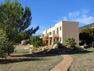 Casa Cubells - Spacious villa with huge swimming pool and large plot within walking distance from Es Cubells - Es Cubells vacation rentals