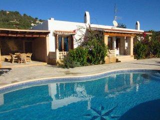 Villa Estrella - Spanish villa with stunning views near Es Cubells and Cala d'Hort - Es Cubells vacation rentals