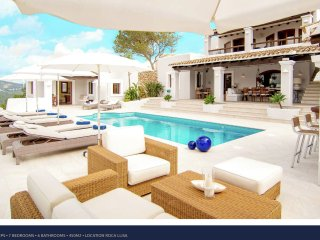 Villa Destino 3 Roca Llisa - Luxury 14 people villa in Ibiza with pool and spa, near Ibiza town. - Roca Llisa vacation rentals