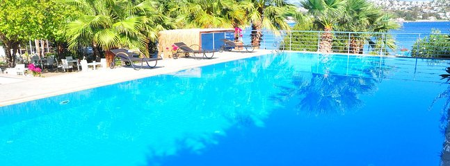 Bodrum Bitez Sea View Apartment With Swimming Pool At The Beach # 527 - Bitez vacation rentals
