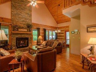 3BR Cabin, 90 Foot Waterfall, 2 Levels of Wraparound Decks, Hot Tub, 2 King - Banner Elk vacation rentals