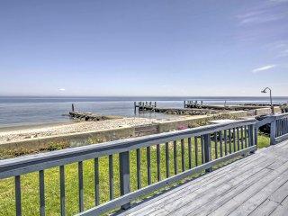 New! Beachfront 4BR St. Leonard Cottage w/ Deck! - Saint Leonard vacation rentals