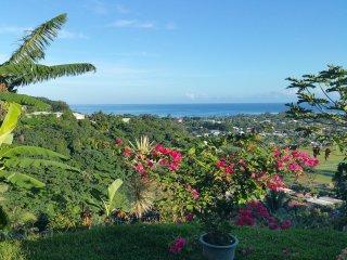 Chambre double avec magnifique vue sur venus  tahiti - Mahina vacation rentals
