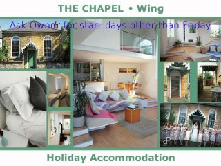 Perfect Converted chapel with Internet Access and Outdoor Dining Area - Wing vacation rentals