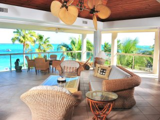 Developers own penthouse directly on the finest snorkelling reef on Grace Bay - Providenciales vacation rentals