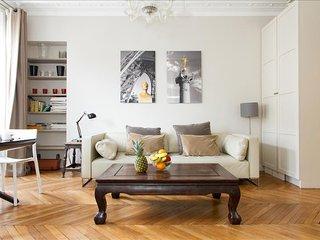 27. CLASSIC PARISIAN FLAT IN THE HEART OF LE MARAIS - RUE DES FRANCS BOURGEOIS - Paris vacation rentals