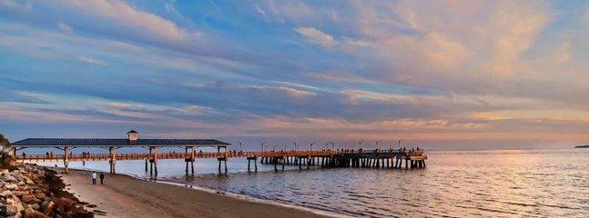 A sunset walk on St Simons.jpg - 4322 15th Street - Saint Simons Island - rentals