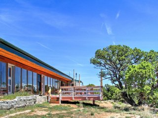 NEW! 'Earth Ship' Cliffside 2BR Glade Park Home! - Glade Park vacation rentals