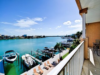 Island Key Condos 302  Newly Listed Waterfront Condo 5 min walk to Beach - Clearwater vacation rentals