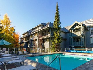 'Glacier Lodge' Luxury 2 bedroom suite w/ Pool & Hot Tub next to Adventure Zone! - Whistler vacation rentals
