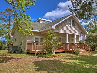New! Scenic 3BR Atlantic Home w/ Wraparound Deck! - Atlantic vacation rentals
