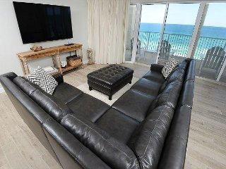 Gorgeous! Overlooks lagoon pool w/3 ocean-view masters & free beach service - Panama City Beach vacation rentals
