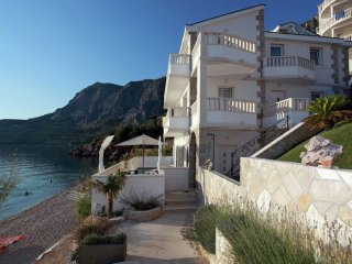 Villa More - Beautiful villa with private pool right on the beach and sea view - Podgora vacation rentals
