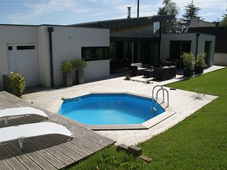 Plougastel - Modern villa with private pool situated at 300m from the sea. - Plougastel Daoulas vacation rentals
