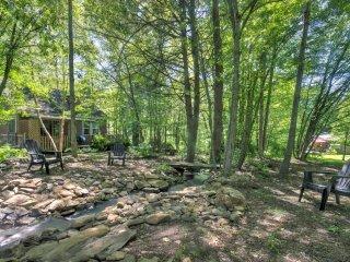 NEW! Lovely 1BR Barnardsville House w/Deck & Pond! - Barnardsville vacation rentals