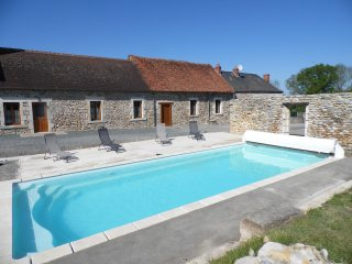 Nice Gite with Central Heating and Television - Prissac vacation rentals