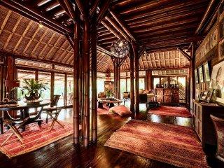 Unique & Stunning Bamboo Villa - Mas vacation rentals