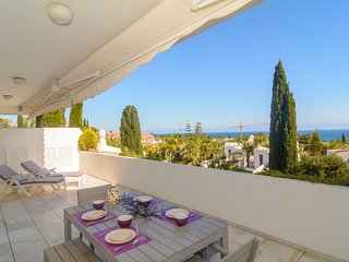 Bahia Real beachfront penthouse with private pool - Marbella vacation rentals