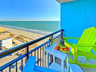 WOWTop Oceanfront Resort/Wonderful Ocean Views/Updated/Netflix/Xbox1/2tvs/3 beds - Myrtle Beach vacation rentals
