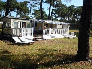 mobilhome à 500m plage et marché montalivet gironde France - Montalivet vacation rentals
