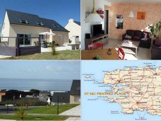 Location maison familiale vue sur mer Pentrez Plag - Pentrez vacation rentals