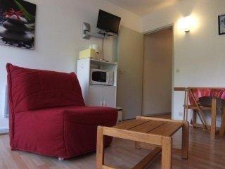 Bright Gourette Studio rental with Television - Gourette vacation rentals