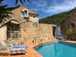 Maison Bouleau - stone house with private pool - Saint-Nazaire-de-Ladarez vacation rentals