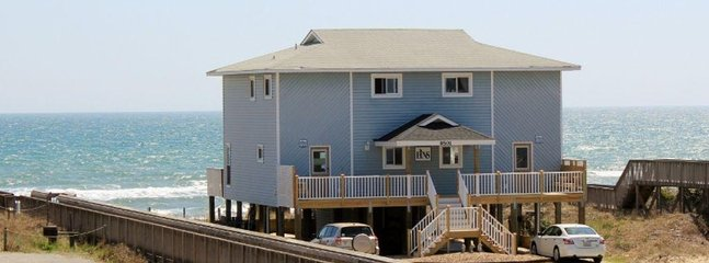 Street Front Exterior - Fins to the Right West - Emerald Isle - rentals