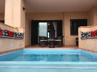 HACIENDA DEL ALAMO 2 Bed, 2 Bath Ground Floor Apartment with Private Plunge Pool - Fuente alamo de Murcia vacation rentals