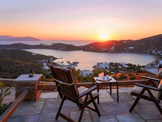 Cycladic Lux Private Villa in Unrivaled Position - Ios vacation rentals
