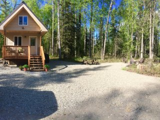 Brand new! Talkeetna Tiny House Cabin*Sauna*Private RV/tent sites for your use! - Talkeetna vacation rentals