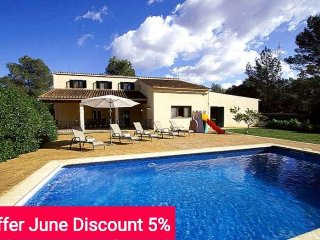 Last minute offer 5% June 2017- Comfortable house for 10 people with pool and - Sencelles vacation rentals