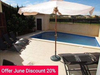 Last minute Offer 20% June 2017. Single family home with swimming pool en Son - Sa Coma vacation rentals