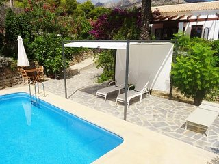 500 m from the beach Bohemian Chic Villa with Pool and Sea Views - Altea vacation rentals