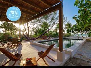 Romantic modern beach retreat for couples, groups - Telchac Puerto vacation rentals