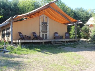 2 bedroom Tented camp with A/C in Dover - Dover vacation rentals