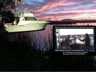 Stay Aboard A Luxurious Motor Yacht - A Fun Lodging Alternative In Stockton, CA - Stockton vacation rentals