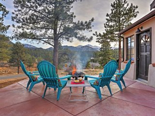 New! 3BR Estes Park Cabin w/ Patio and Mtn Views! - Estes Park vacation rentals
