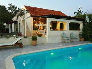 House Marija near Trogir, pool & jacuzzi - Gornji Seget vacation rentals