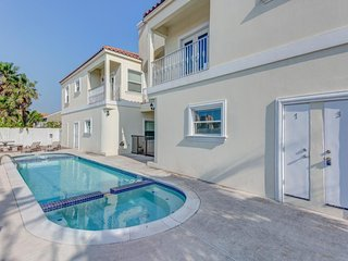 Dog-friendly condo w/ shared pool & hot tub  - one block from the beach - South Padre Island vacation rentals