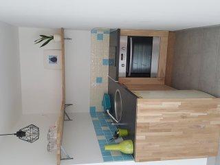 Logement indépendant avec jardin privé dans maison - Gilly-sur-Isere vacation rentals